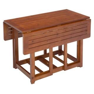 Jack Post Warm Brown Folding Table