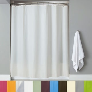 "Solid Color 100% PEVA Shower Curtain/Liner 70""x72"" (Assorted Colors)"