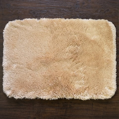 Sweet Home Collection Faux Fur Bath Rug (Available in 10 colors and 3 sizes)