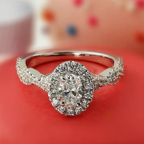 06d741d9bd7cf Buy Infinity Diamond Rings Online at Overstock | Our Best Rings Deals