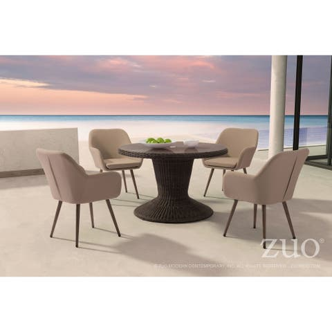 Waterfall Dining Table Brown by Havenside Home