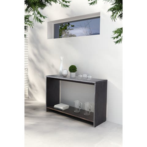 Mom Console Table White Wash