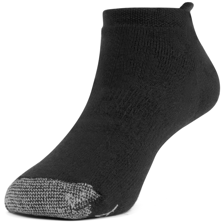 3 Pairs Galiva Womens Cotton Extra Soft No Show Cushion Running Socks