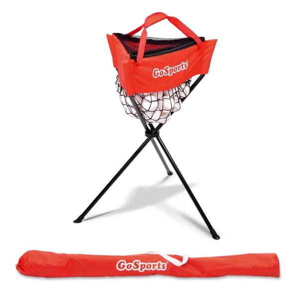 GoSports Baseball & Softball Ball Caddy with Carrying Bag