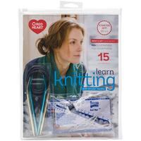 Bates Learn Knitting with Circular Needles Kit