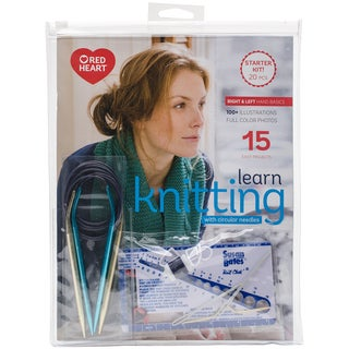 Learn To Knit With Circulars Kit