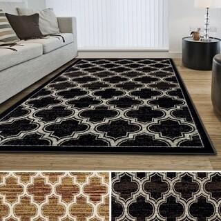 Superior Designer Bohemian-Trellis Area Rug  (4' X 6')