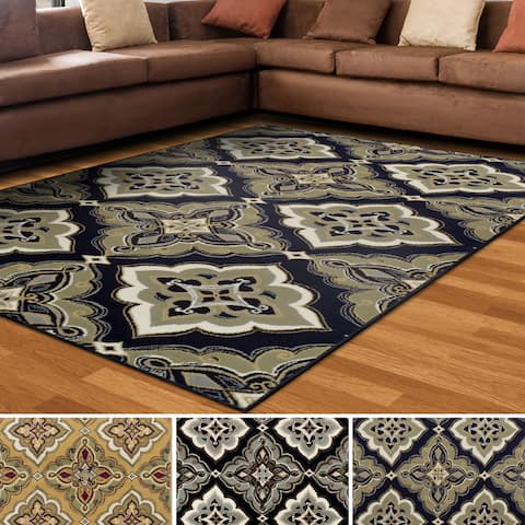 Superior Designer Crawford Area Rug Collection (4' X 6')