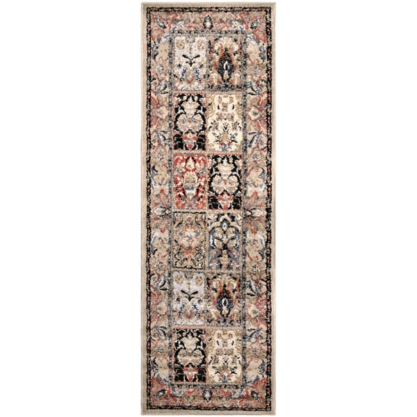 "Superior Designer Hollingsworth Runner Rug (2'7"" X 8')"