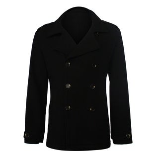 Seduka Men's Jacket - Contemporary, Casual, Sportswear Peacoat