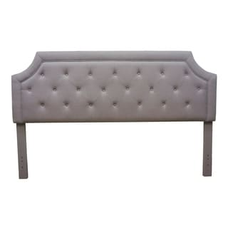 FirsTime® Kelsey Gray Linen Headboard Full/Queen