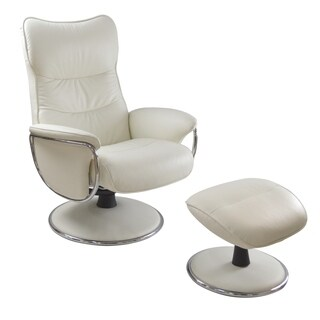 Kelly Swivel Recliner and Ottoman Set