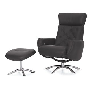 Taylor Swivel Recliner and Ottoman Set
