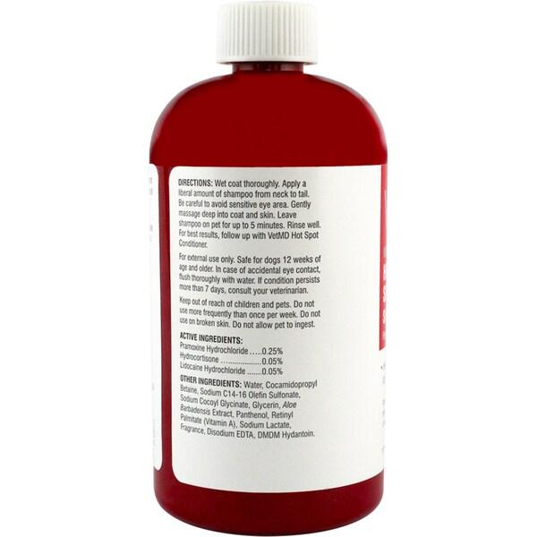 VetMD Medicated Hot Spot Anti-Itch Shampoo 17fl oz