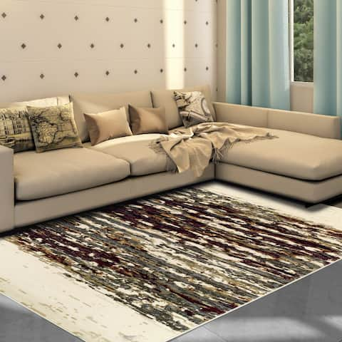 Superior Designer Terrain Area Rug (8' X 10') - 8' x 10'