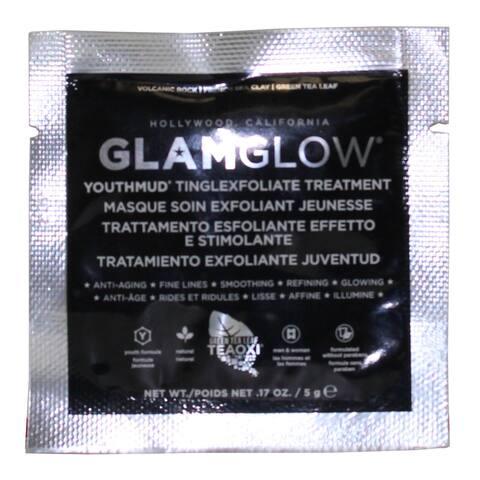 GlamGlow Youthmud Tinglexfoliate Treatment 5-gram Sample Packette