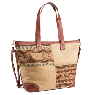 Rosewand Women's 'Preston' Tribal Print Tote