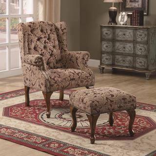 Almeria Accent Chair and Ottoman