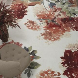 """Mohawk Aurora Watercolor Zen Nylon Area Rug (7'6 x 10') - 7'6"""" x 10'"""