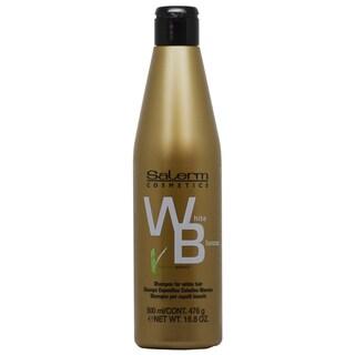 Salerm White Shampoo 16.8-ounce for Gray Hair