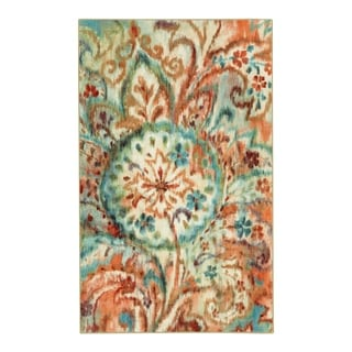 Link to Mohawk Home Bohemian Paisley Area Rug Similar Items in Patterned Rugs