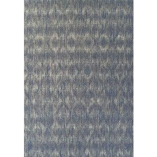 Addison Freeport Abstract Diamond Blue/Grey Indoor/Outdoor Area Rug - 8'2 x 10'
