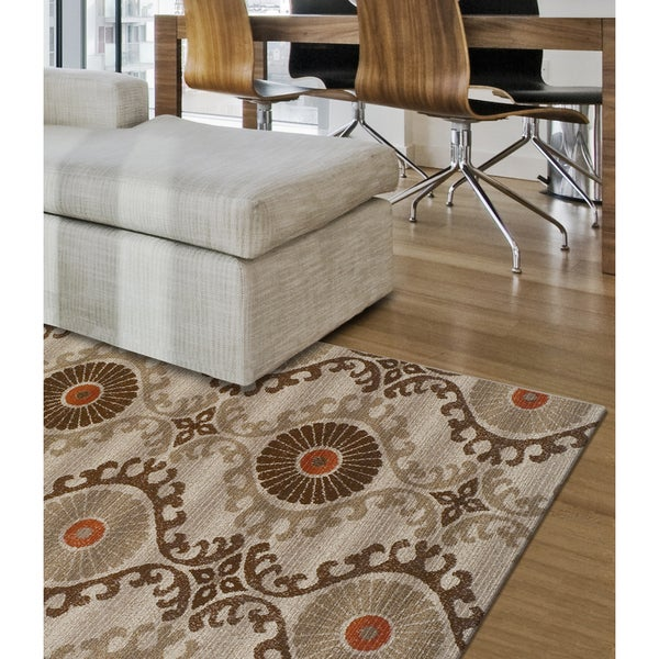 Shop Addison Freeport Bohemian Brown Spice Indoor Outdoor