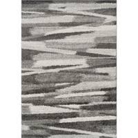 Addison Rugs Reston Neutral/Grey Shag Area Rug - 8' x 10'