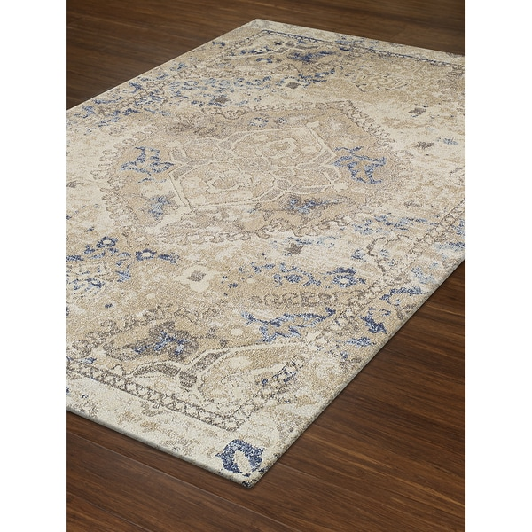 Persian Rugs Wellington: Shop Addison Rugs Wellington Antique Medallion Beige/Brown
