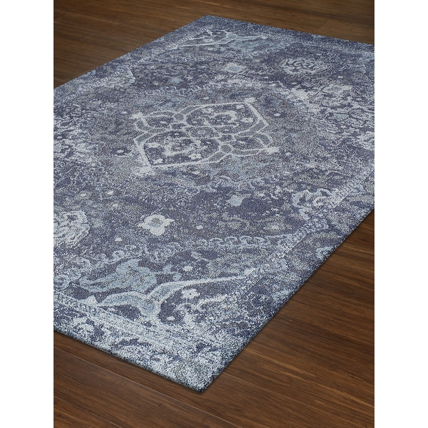 Persian Rugs Wellington: Shop Addison Rugs Wellington Antique Medallion Midnight