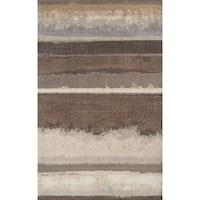 "ADDISON Wellington Landscape Brown/Ivory Area Rug (3'3""X5'3"")"