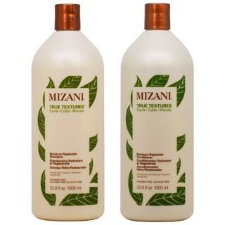 Mizani True Textures Moisture Replenish 33.8-ounce Shampoo & Conditioner Duo