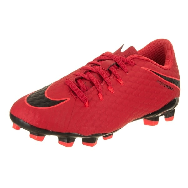 super popular 7fa99 25e56 Nike Kids Jr Hypervenom Phelon III Fg Soccer Cleat