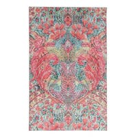 Mohawk Prismatic Lova Pink/ Green/ Blue Abstract Mutlicolor Area Rug - 8' x 10'
