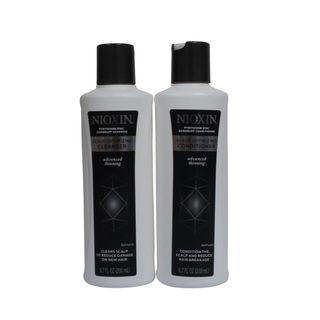 Nioxin Dandruff Scalp Optimizing 6.7-ounce Cleanser & Conditioner Duo