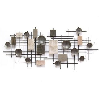 Link to Stratton Home Decor Large Modern Industrial  Wall Decor Similar Items in Wall Sculptures