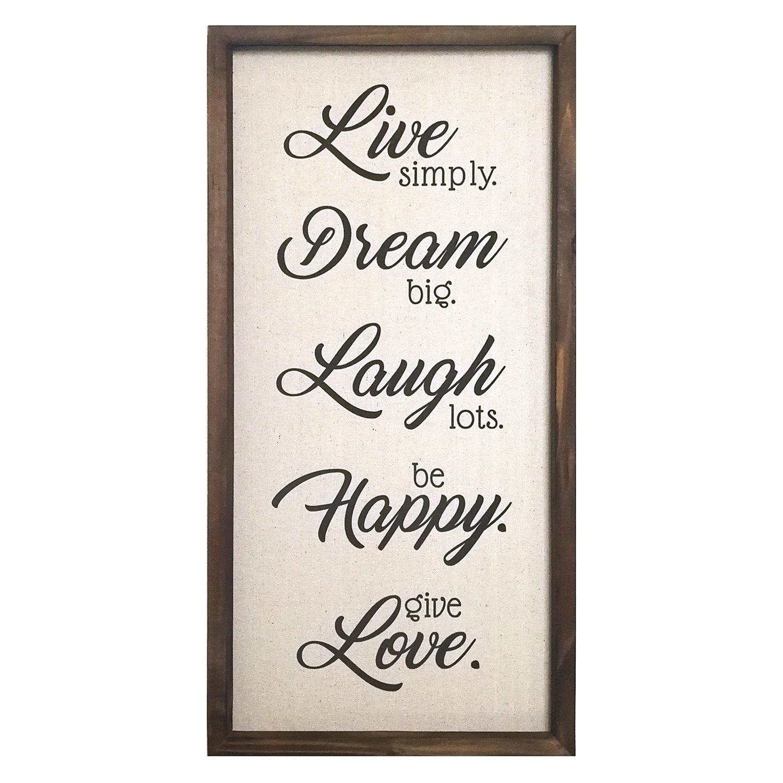 Live Dream Laugh