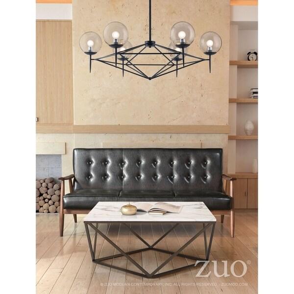Carmine Ceiling Lamp Black