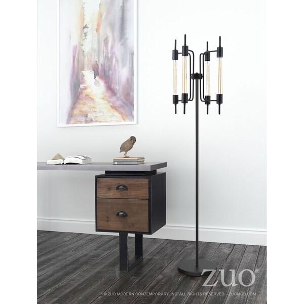 Gisborne Floor Lamp Rust