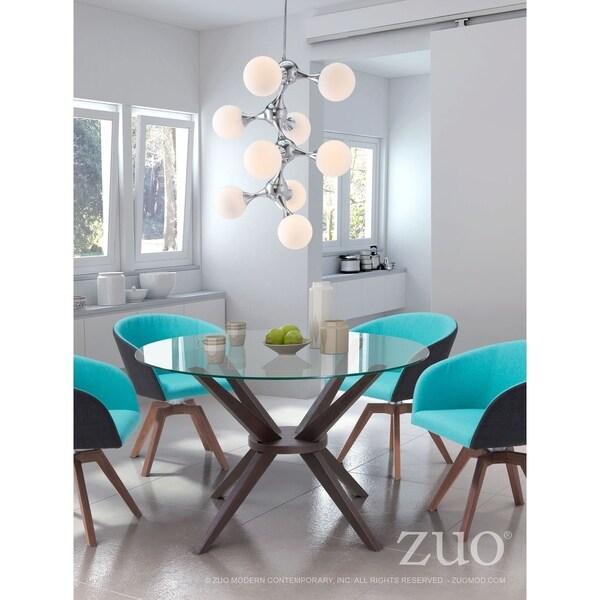 Pomegranate Ceiling Lamp White & Chrome