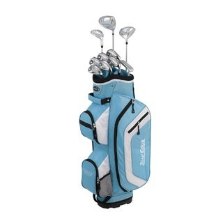 Tour Edge Women's Bazooka 260 14 Pc. Golf Set, Light Blue
