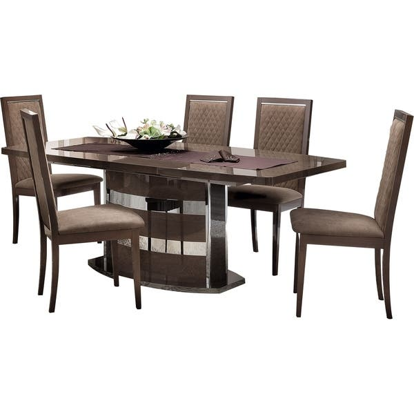 Luca Home Silver Birch Dining Chair 2pk