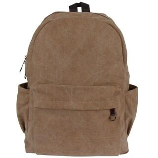 Leisureland Unisex Classic Cotton Canvas Backpack