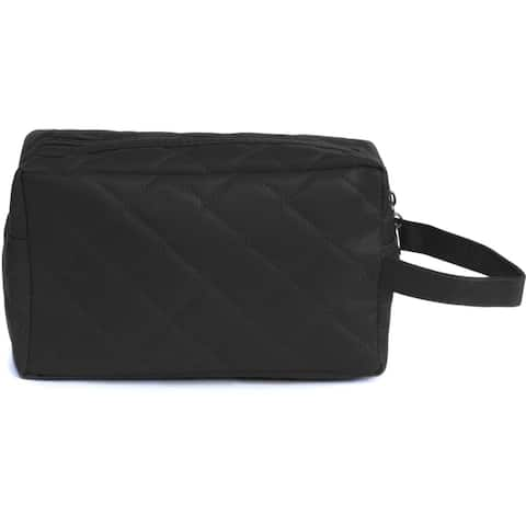 Leisureland Water Resistant Quilted Makeup Bag, Cosmetic Bag