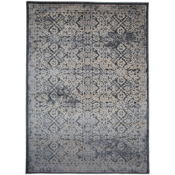 Black rug texture Flooring Bathroom Tile Transitional Distressed Floral Highlow Texture Dark Gray Area Rug Overstock Shop Transitional Distressed Floral Highlow Texture Dark Gray Area