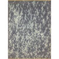 """Noori Rug Galaxy Alhric Grey-Blue/Silver Rug - 7'10"""" x 10'2"""""""