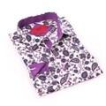 Elie Balleh Milano Italy Boy's Purple Dress / Casual Shirt