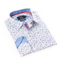 Elie Balleh Milano Italy Boy's White Dress / Casual Shirt