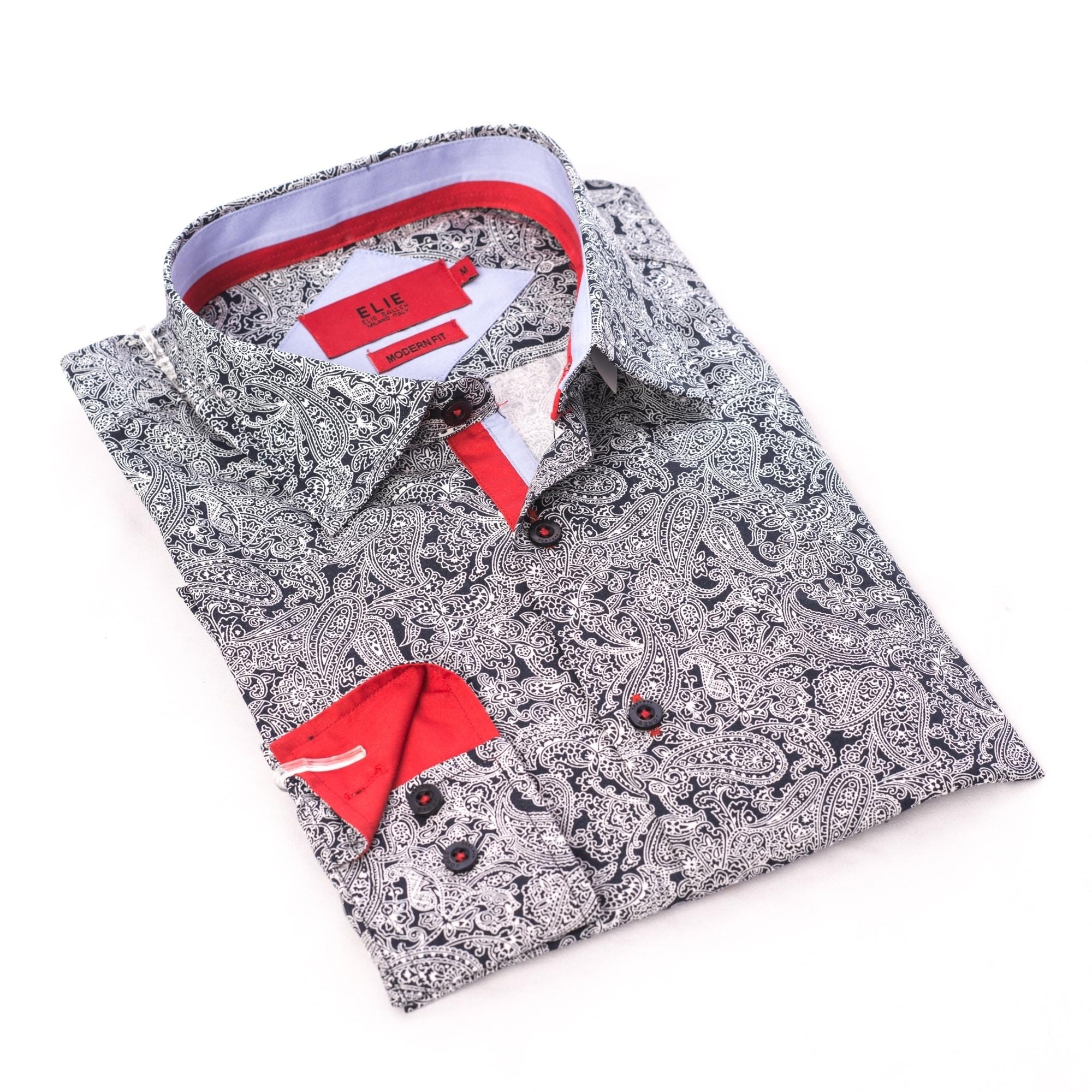 Toddler Boy Button Down Shirt Red