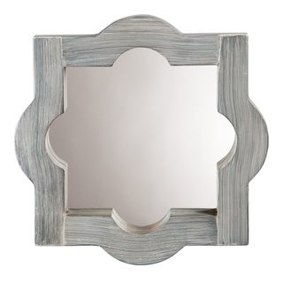 Alden Décor Alice Mirror in Grey Washed Wood